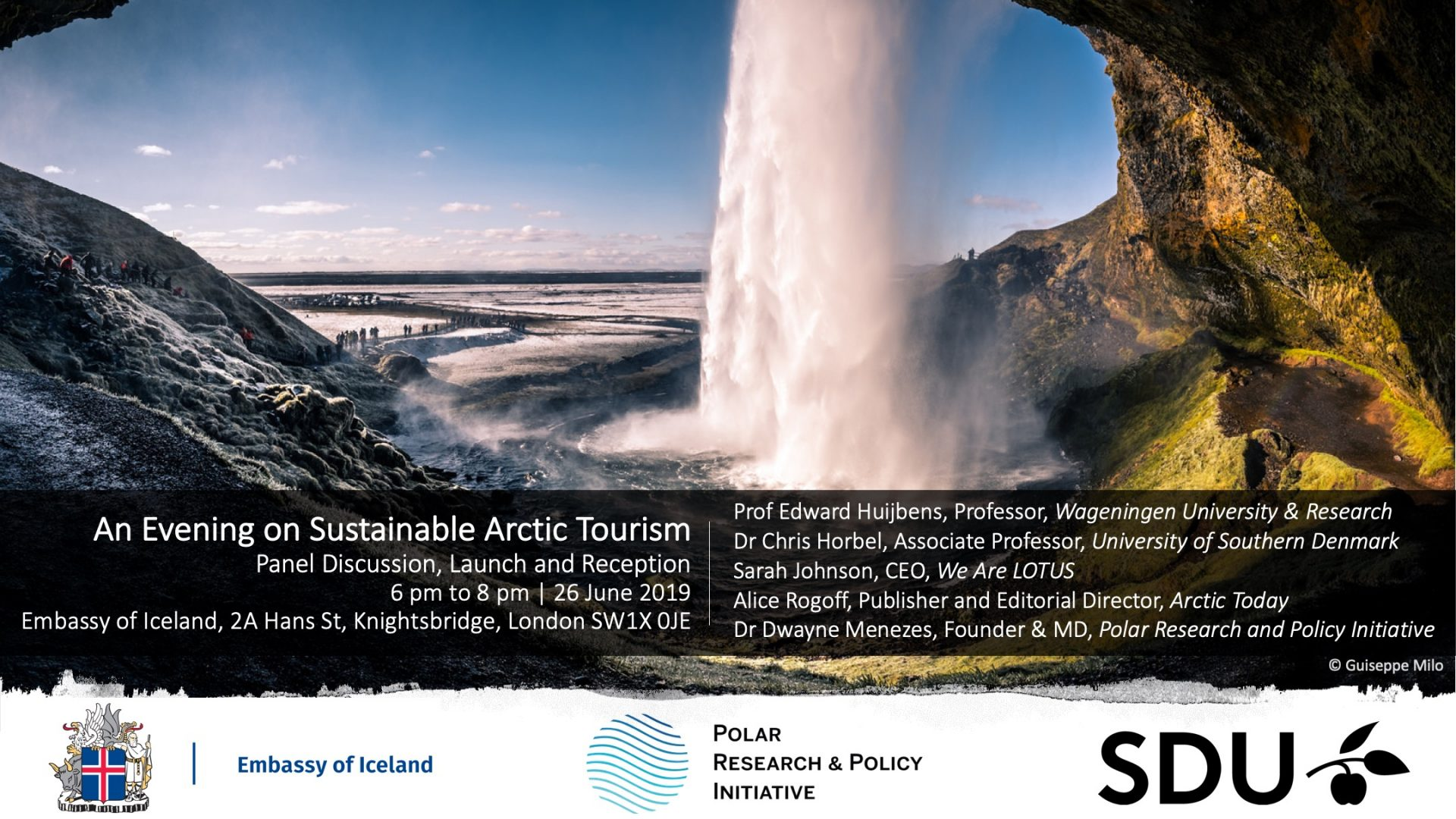 Sustainable Arctic Tourism Iceland Embassy London