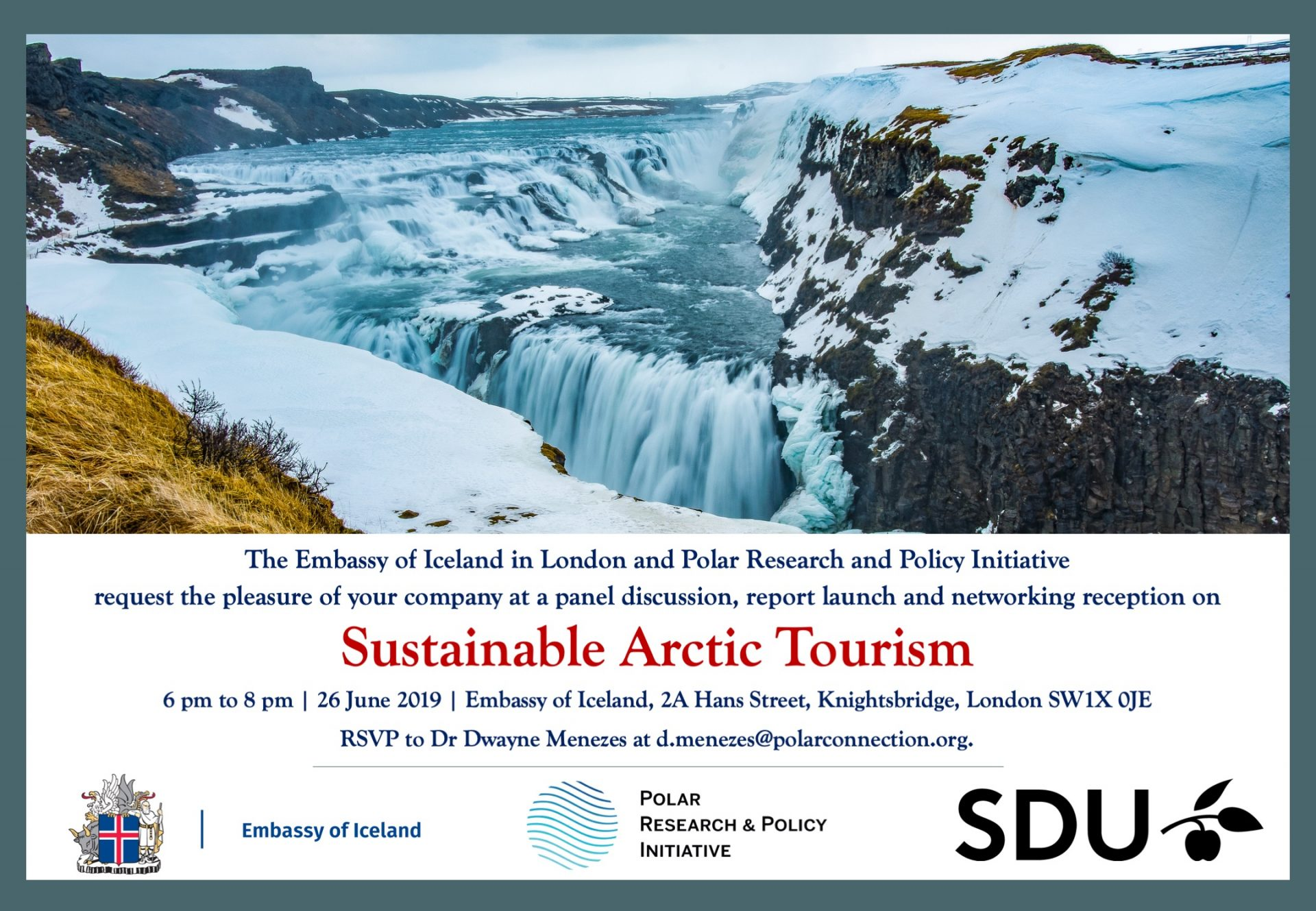 Sustainable Arctic Tourism Embassy Iceland London