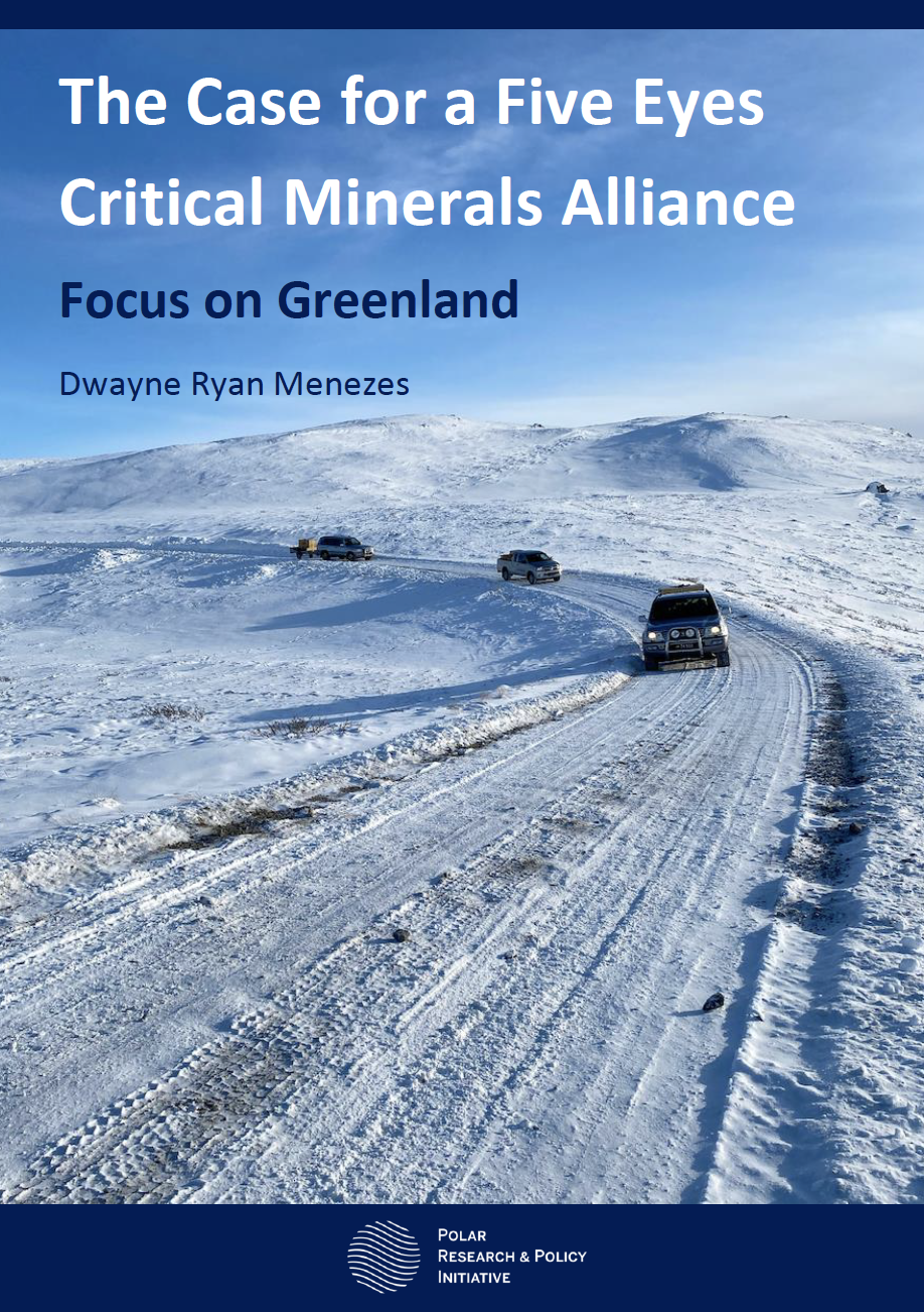 The Case for a Five Eyes Critical Minerals Alliance: Focus on Greenland